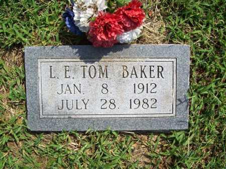 BAKER, L. E. TOM - Benton County, Arkansas | L. E. TOM BAKER - Arkansas Gravestone Photos