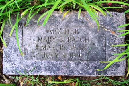 BALCH, MARY E. - Benton County, Arkansas | MARY E. BALCH - Arkansas Gravestone Photos