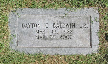 BALDWIN JR (VETERAN WWII), DAYTON CHANDLER - Benton County, Arkansas | DAYTON CHANDLER BALDWIN JR (VETERAN WWII) - Arkansas Gravestone Photos