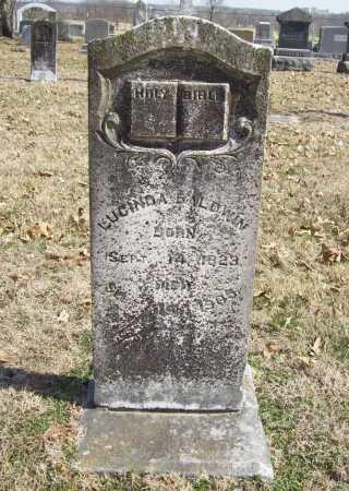 BALDWIN, LUCINDA - Benton County, Arkansas | LUCINDA BALDWIN - Arkansas Gravestone Photos
