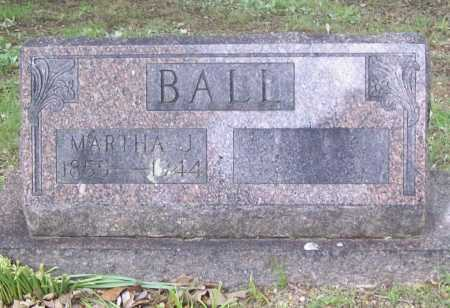 BALL, MARTHA J. - Benton County, Arkansas | MARTHA J. BALL - Arkansas Gravestone Photos