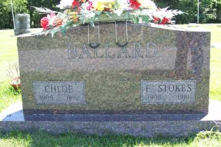 BALLARD, CHLOE - Benton County, Arkansas | CHLOE BALLARD - Arkansas Gravestone Photos