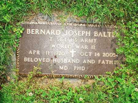 BALTES (VETERAN WWII), BERNARD JOSEPH - Benton County, Arkansas | BERNARD JOSEPH BALTES (VETERAN WWII) - Arkansas Gravestone Photos