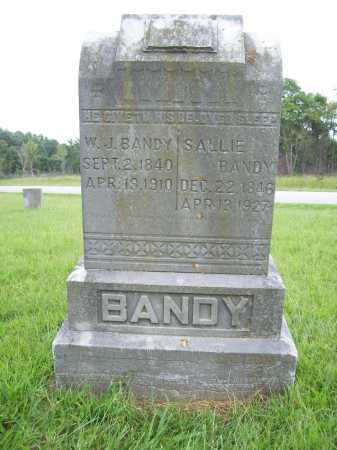 BANDY, SALLIE - Benton County, Arkansas | SALLIE BANDY - Arkansas Gravestone Photos