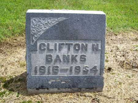 BANKS, CLIFTON N. - Benton County, Arkansas | CLIFTON N. BANKS - Arkansas Gravestone Photos