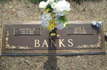 BANKS (VETERAN), JACK RONALD - Benton County, Arkansas | JACK RONALD BANKS (VETERAN) - Arkansas Gravestone Photos