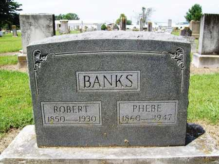 BANKS, PHEBE - Benton County, Arkansas | PHEBE BANKS - Arkansas Gravestone Photos