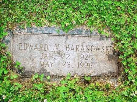 BARANOWSKI, EDWARD V. - Benton County, Arkansas | EDWARD V. BARANOWSKI - Arkansas Gravestone Photos