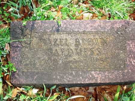 BROWN BARDMESS, HAZEL - Benton County, Arkansas | HAZEL BROWN BARDMESS - Arkansas Gravestone Photos