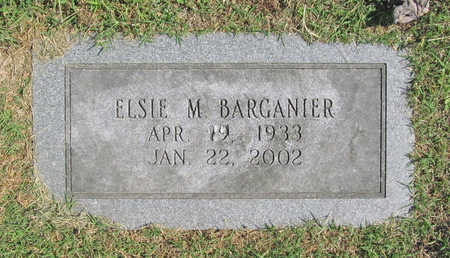 BARGANIER, ELSIE M. - Benton County, Arkansas | ELSIE M. BARGANIER - Arkansas Gravestone Photos
