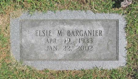 BARGANIER, ELSIE M. - Benton County, Arkansas | ELSIE M. BARGANIER - Arkansas Gravestone Photos