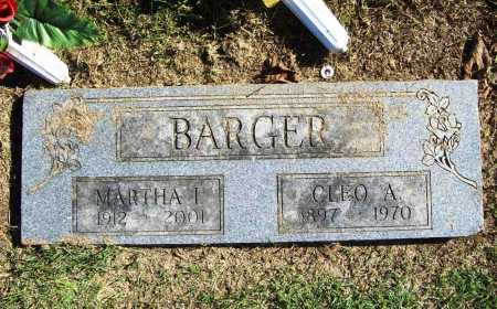 BARGER, MARTHA I. - Benton County, Arkansas | MARTHA I. BARGER - Arkansas Gravestone Photos