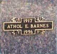 BARNES, ATHOL E. - Benton County, Arkansas | ATHOL E. BARNES - Arkansas Gravestone Photos