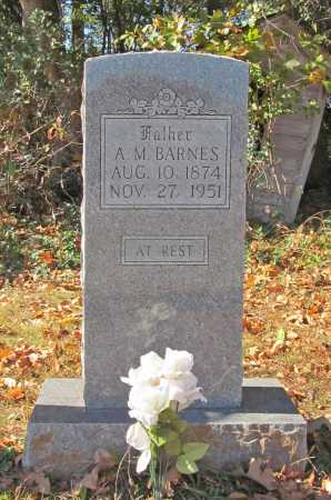BARNES, A. M. - Benton County, Arkansas | A. M. BARNES - Arkansas Gravestone Photos