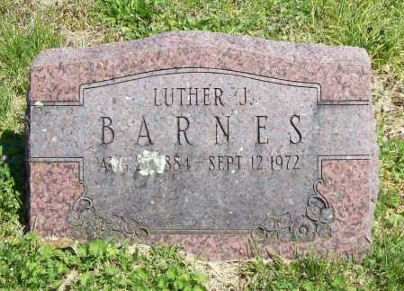 BARNES, LUTHER J. - Benton County, Arkansas | LUTHER J. BARNES - Arkansas Gravestone Photos