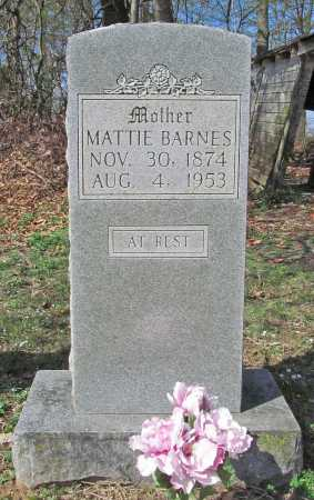 BARNES, MATTIE - Benton County, Arkansas | MATTIE BARNES - Arkansas Gravestone Photos