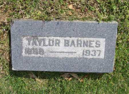 BARNES, TAYLOR - Benton County, Arkansas | TAYLOR BARNES - Arkansas Gravestone Photos
