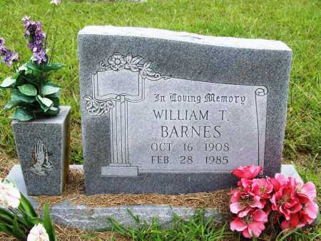 BARNES, WILLIAM T. - Benton County, Arkansas | WILLIAM T. BARNES - Arkansas Gravestone Photos