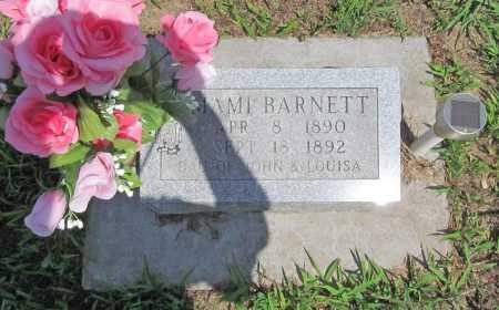 BARNETT, MAMIE - Benton County, Arkansas | MAMIE BARNETT - Arkansas Gravestone Photos