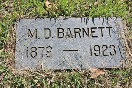 BARTON BARNETT, M. D. - Benton County, Arkansas | M. D. BARTON BARNETT - Arkansas Gravestone Photos