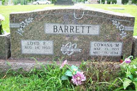 BARRETT, COWANA M. - Benton County, Arkansas | COWANA M. BARRETT - Arkansas Gravestone Photos