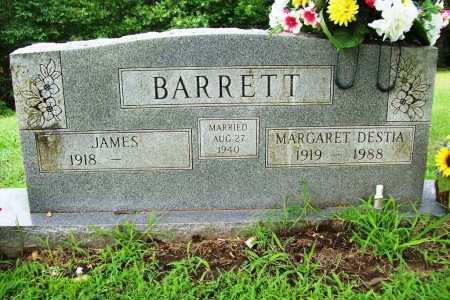 BARRETT, MARGARET DESTIA - Benton County, Arkansas | MARGARET DESTIA BARRETT - Arkansas Gravestone Photos