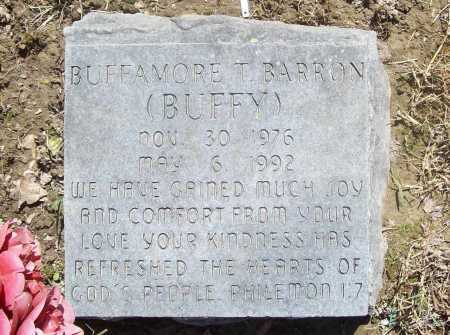 "BARRON, BUFFAMORE T. ""BUFFY"" - Benton County, Arkansas 