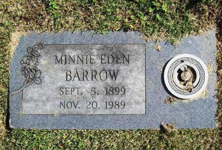 EDEN BARROW, MINNIE - Benton County, Arkansas | MINNIE EDEN BARROW - Arkansas Gravestone Photos