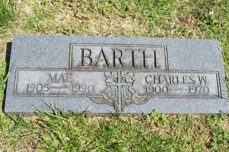 BARTH, CHARLES W. - Benton County, Arkansas | CHARLES W. BARTH - Arkansas Gravestone Photos