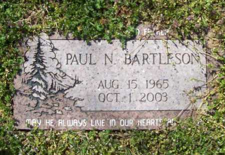 BARTLESON, PAUL N. - Benton County, Arkansas | PAUL N. BARTLESON - Arkansas Gravestone Photos