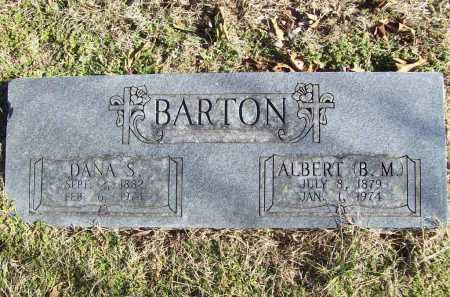 "BARTON, ALBERT ""B.M."" - Benton County, Arkansas 
