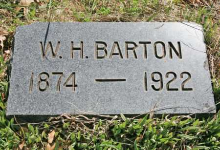 BARTON, WILLIAM HENRY - Benton County, Arkansas | WILLIAM HENRY BARTON - Arkansas Gravestone Photos