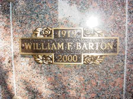 BARTON (VETERAN WWII), WILLIAM F - Benton County, Arkansas | WILLIAM F BARTON (VETERAN WWII) - Arkansas Gravestone Photos