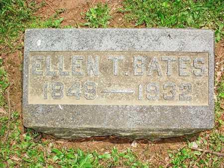 BATES, ELLEN T. - Benton County, Arkansas | ELLEN T. BATES - Arkansas Gravestone Photos