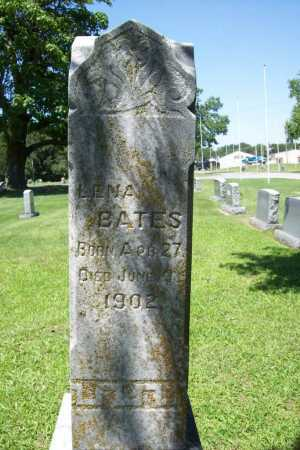 BATES, LENA - Benton County, Arkansas | LENA BATES - Arkansas Gravestone Photos