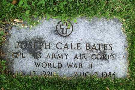 BATES (VETERAN WWII), JOSEPH CALE - Benton County, Arkansas | JOSEPH CALE BATES (VETERAN WWII) - Arkansas Gravestone Photos