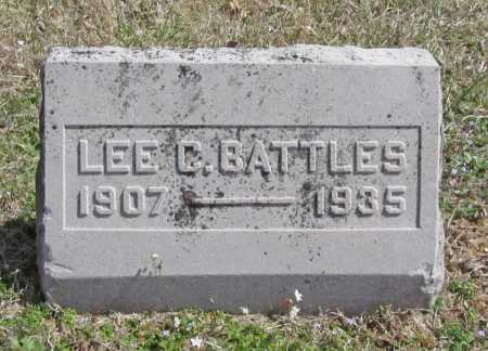 BATTLES, LEE C. - Benton County, Arkansas | LEE C. BATTLES - Arkansas Gravestone Photos