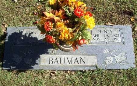 BAUMAN, HENRY - Benton County, Arkansas | HENRY BAUMAN - Arkansas Gravestone Photos