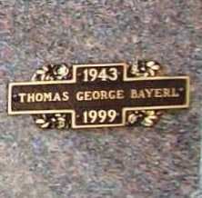 BAYERL, THOMAS GEORGE - Benton County, Arkansas | THOMAS GEORGE BAYERL - Arkansas Gravestone Photos