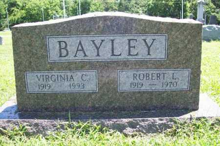 BAYLEY, ROBERT L. - Benton County, Arkansas | ROBERT L. BAYLEY - Arkansas Gravestone Photos