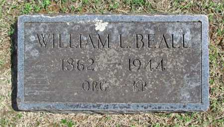 BEALL, WILLIAM L - Benton County, Arkansas | WILLIAM L BEALL - Arkansas Gravestone Photos