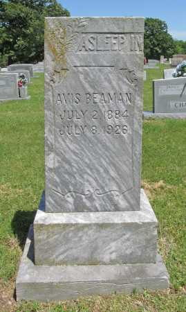 BEAMAN, AVIS - Benton County, Arkansas | AVIS BEAMAN - Arkansas Gravestone Photos