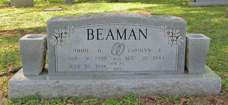 BEAMAN, JIMMIE D. - Benton County, Arkansas | JIMMIE D. BEAMAN - Arkansas Gravestone Photos