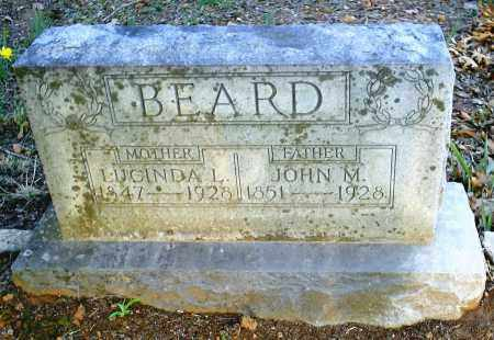 HAMBY BEARD, LUCINDA L. - Benton County, Arkansas | LUCINDA L. HAMBY BEARD - Arkansas Gravestone Photos