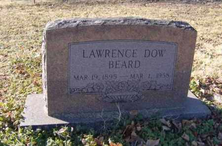 BEARD, LAWRENCE DOW - Benton County, Arkansas | LAWRENCE DOW BEARD - Arkansas Gravestone Photos