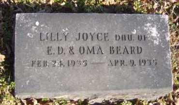 BEARD, LILLY JOYCE - Benton County, Arkansas | LILLY JOYCE BEARD - Arkansas Gravestone Photos