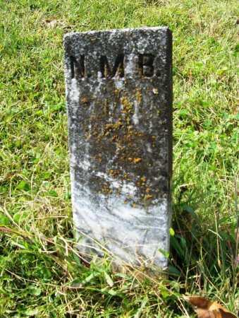 BEATTY, NELLIE MAY (FOOTSTONE) - Benton County, Arkansas   NELLIE MAY (FOOTSTONE) BEATTY - Arkansas Gravestone Photos