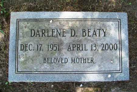 BEATY, DARLENE D. - Benton County, Arkansas | DARLENE D. BEATY - Arkansas Gravestone Photos