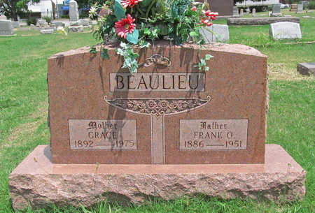 BEAULIEU, FRANK O - Benton County, Arkansas | FRANK O BEAULIEU - Arkansas Gravestone Photos