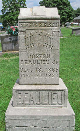 BEAULIEU, JOSEPH JR - Benton County, Arkansas | JOSEPH JR BEAULIEU - Arkansas Gravestone Photos